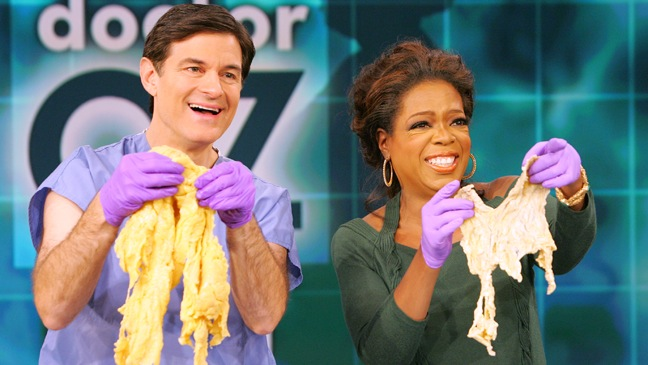 Dr. Oz - Holds Belly Fat Blaze