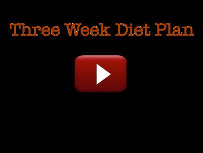 the three week diet pdf