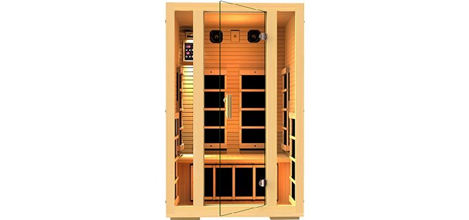 Far Infrared Sauna for 2 Person  Improving Insulin Sensitivity