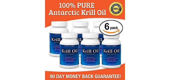 Krill Oil: 100% Pure Antarctic Krill Oil