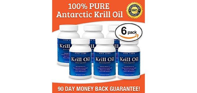Krill Oil: 100% Pure Antarctic Krill Oil